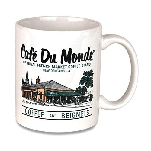 Cafe Du Monde Coffee Color Mug