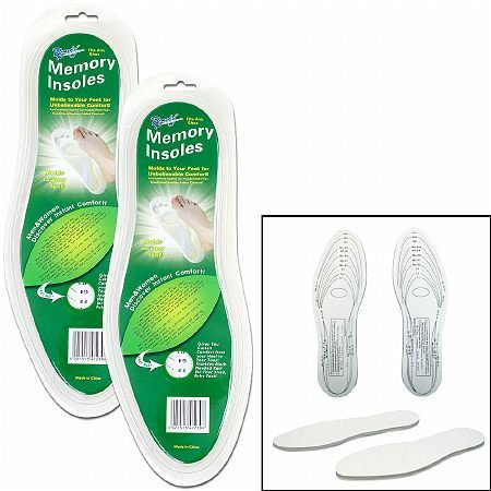 Remedy Memory Foam Insole - 3PC by Remedy