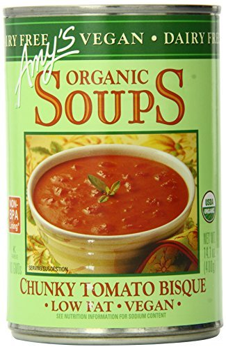 Amy's Organic Soups, Vegan Chunky Tomato Bisque, 14.1 Ounce (Pack of 12) by Amy's Organic by Amy's