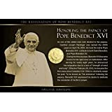 IMPACTO Vatikan, 50 Cents. Papst Benedikt XVI. Motivkarte