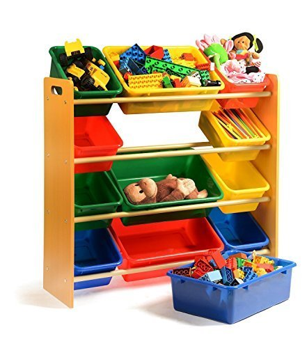 Home it toy organizer with bins you get toy storage bins for Toy and book storage