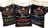 Lumber Jack BBQ 60 Pounds Pellet Assortment (Pick 3 x 20 Pound Bags)