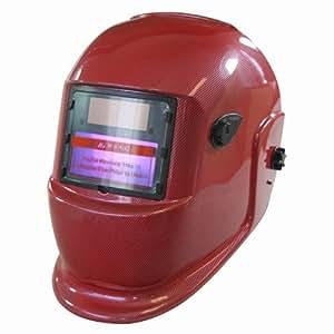 TEKZ 41260 Red Solar Auto Darkening Welding Helmet