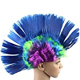 Search : DEESEE Masquerade Punk Mohican hairstyle Cockscomb Hair Cosplay wig