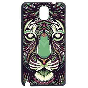 Fashion Personality Vintage Pattern Aztec Animal Tiger Hard Back Plastic Case Cover Skin Protector For Samsung Galaxy Note3 by Alexism