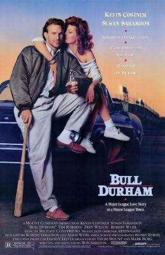 1988 Bull Durham 11x17 Movie Poster