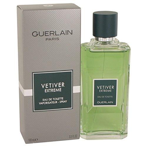 - VETIVER EXTREME by Guerlain 3.4 Ounce / 100 ml Eau de Toilette Men Cologne Spray