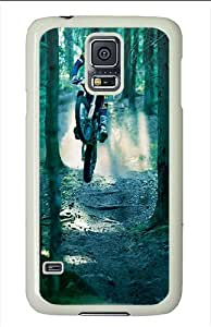 Samsung Galaxy S5 Cases and Covers - Motocross Polycarbonate Case for Samsung Galaxy S5 White