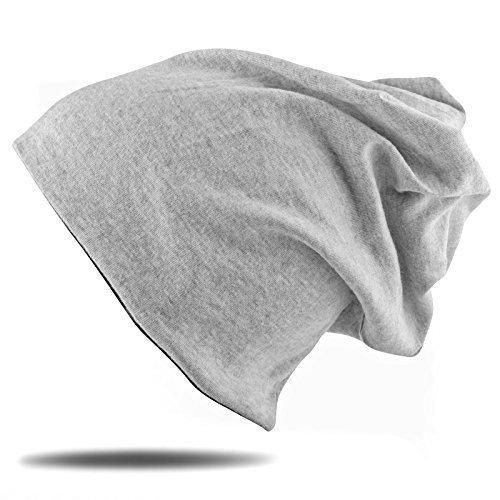 BEZLIT Damen Herren Long Jersey Beanie Slouch Winter Schal Mütze (Schal und Mütze in einem Größe One-Size) M331