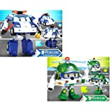 ROBOCAR POLI Deluxe Transformer Toy : POLI + HELLY [Special Limited Edition]