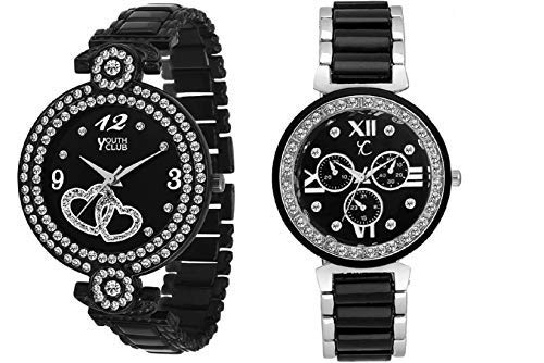 Youth Club Pair Analog Watches for Girls