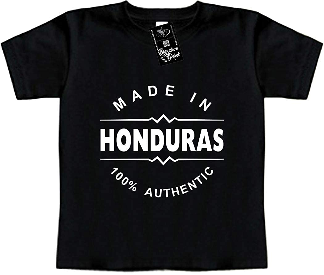 Made in Honduras Central America Toddler Tee Funny Baby T-Shirt