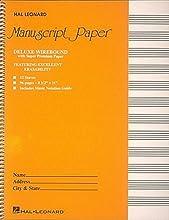 Deluxe Wirebound Super Premium Manuscript Paper 12 Stave (Spiral-bound)