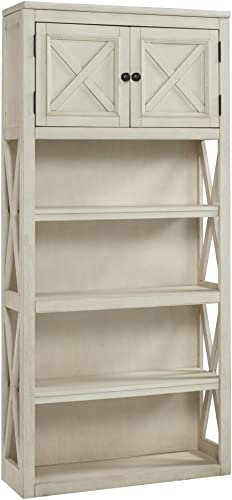 Signature Design by Ashley Bolanburg Large Bookcase Two-tone