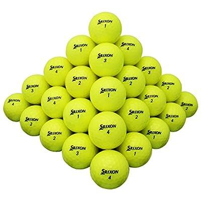 50 Srixon Z-star Yellow Mix Aaaa Near Mint Used Golf Balls