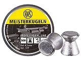 RWS Meisterkugeln .177 Caliber Pellets, Competition 8.2G, 500 count