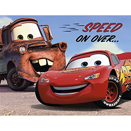 Image Unavailable Not Available For Color Disney CARS Invitations