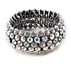 Sparkle Stretch Rhinestones Bracelet for Women
