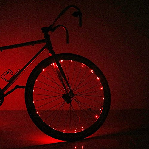 Soondar Super Bright 20-LED Bicycle Bike Rim Lights,