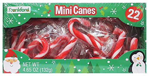 Mini Candy Canes 22 Count Package