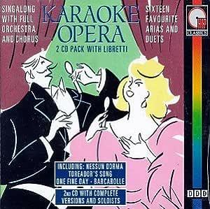 Karaoke Opera: Karaoke Opera: Amazon.es: Música