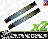 MowerPartsGroup D657 (2) Hi-Lift Blades fits Murray 40' Cut 91871 91871E701 92002HT