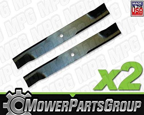MowerPartsGroup D657 (2) Hi-Lift Blades fits Murray 40