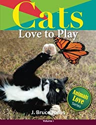 Cats Love to Play (Animals Love To Play) (Volume 1)