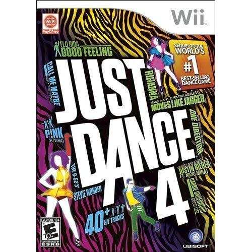 Just Dance 4 - Nintendo Wii (Renewed)