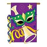 Mardi Gras Flag Indoor/outdoor 28″ X 44″