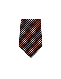 """100% Silk Extra Long Tie with Diamond Weave Pattern (Available in 63"""" XL and 70"""" XXL)"""