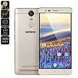 Smartphones Best Deals - Lenovo K5 Note Smartphone - 5.5 Inch Full HD Display, Octa Core CPU, 3GB RAM, Dolby Audio, 3500mAh Battery, 13MP Cam (Gold)