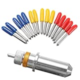 Vinyl Cutter Plotter Holder with 15pcs 30 45 60 Degree Blades