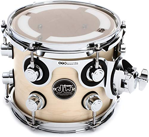 DW Performance Series Mounted Tom - 7'' x 8'' Natural Satin Oil