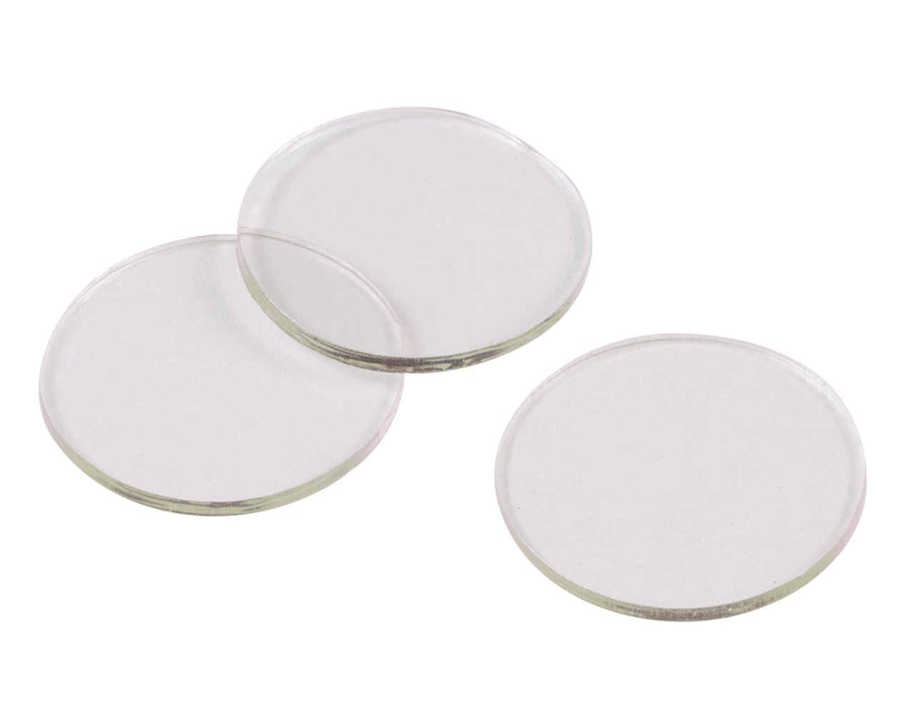 Shepherd Hardware 9966 3/4-Inch SurfaceGard Non-Adhesive Round Transparent Bumper Pads, 10-Count