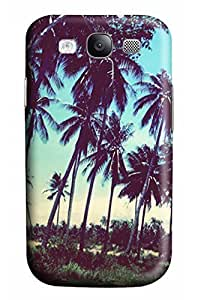 Cute tropical forests Designed PC Materical DIY Phone Case for Samsung s3/i9300