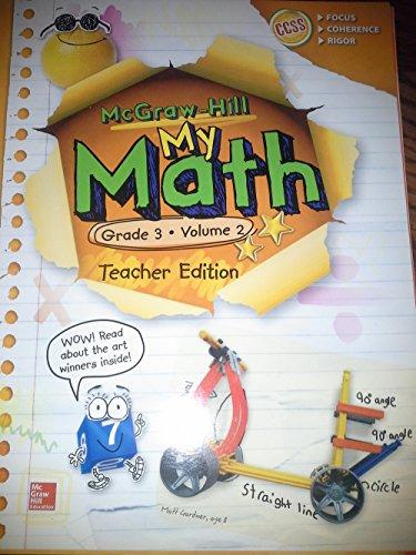 """My Math"" Grade 3 Volume 2 Teacher's Edition"