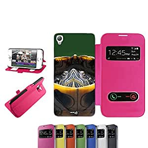 caselabdesigns Flip Carcasa Funda Tarta Ritirata para Sony Xperia Z3D6683Fucsia–Funda protectora plegable de rosa