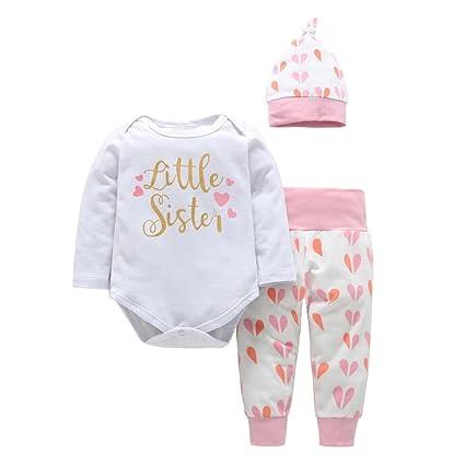 chshe bebé 6 – 24 meses 3pc trajes recién nacido infantil con forma de mezcla de