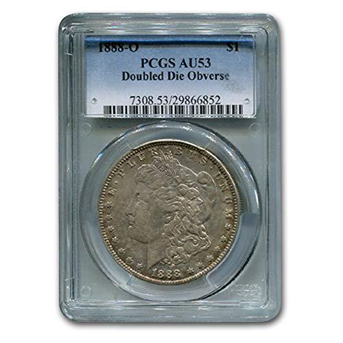 1888 O Morgan Dollar AU-53 PCGS (Doubled Die Obverse) $1 AU-53 PCGS