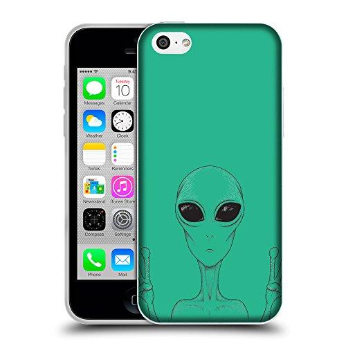 GoGoMobile Coque de Protection TPU Silicone Case pour // Q08580626 Téléphone étranger Caraïbes Vert // Apple iPhone 5C