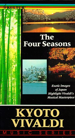 The Four Seasons: Exotc Images of Japan Highlight Vivaldi's Masterpiece [VHS]