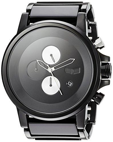 Vestal 'Plexi Acetate' Quartz Stainless Steel Dress Watch, Color:Black (Model: PLA025) - 51E16pkFl5L - Vestal 'Plexi Acetate' Quartz Stainless Steel Dress Watch, Color:Black (Model: PLA025)