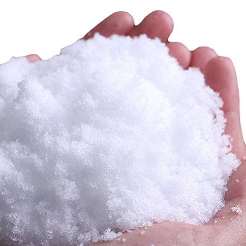 LUOEM Instant Artificial Snow Decoration Winter Wonderland Christmas Party Snow Classroom Science Projects