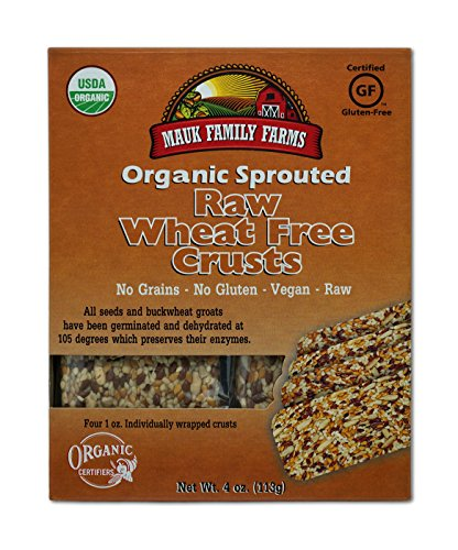 Mauk Family Farms Organic Raw Crusts,  Wheat Free, 4 Ounce
