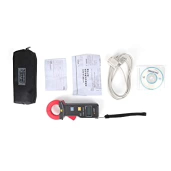 QPLNTCQ Mult/ímetro Digital Medidor de Pinza Digital de Prueba de Corriente de Fuga Profesional BM2060 Que Mide la precisi/ón de la microcorriente a 0.01A
