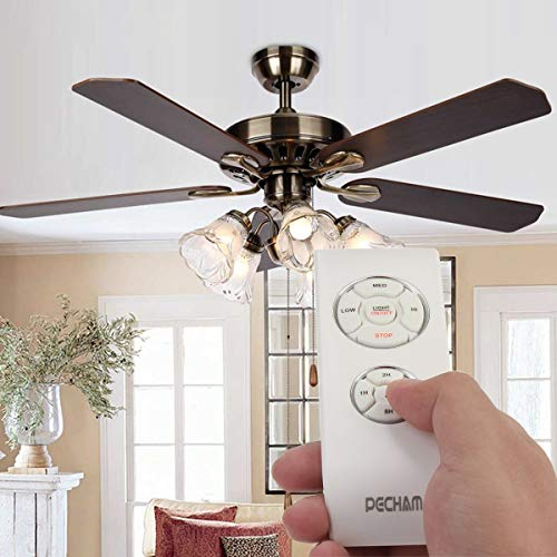PECHAM Universal Lamp Kit & Timing Wireless Remote Control for Ceiling Fan, Scope of Application [Home/Office/Hotel/The Club/Display Hall/Restaurant] by PECHAM (Image #3)
