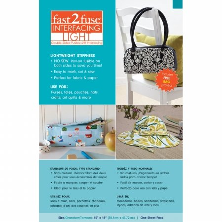 Amazon.com: C&T Publishing 20177 Fast2fuse Fusible ...