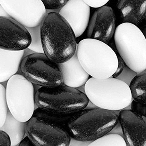 Black & White Tuxedo Jordan Almonds 5LB Bag -