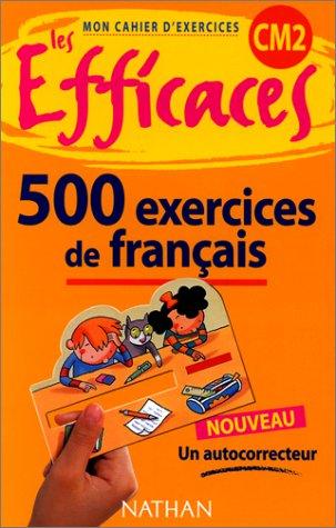Francais Cm2 500 Exercices Ɯ¬ ɀšè²© Amazon